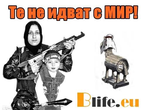 Започна въоръжаването на бежанците!