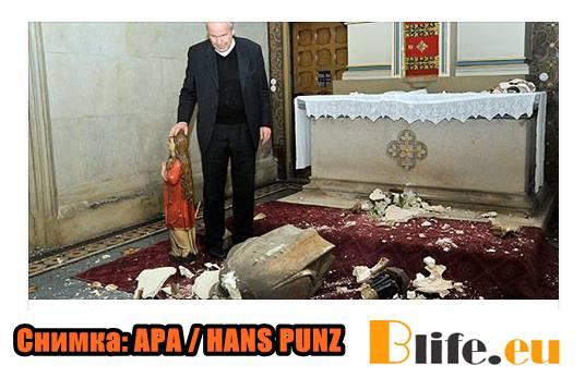 Поредната разрушена Църква във Виена
