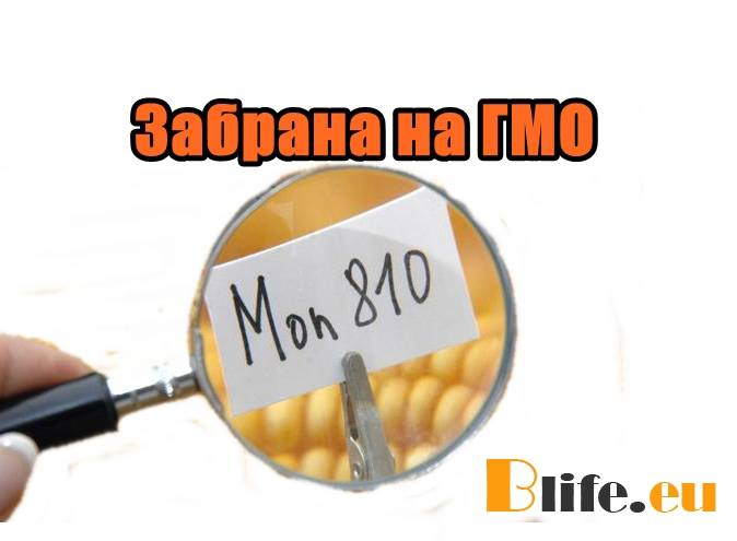 Забрана на ГМО