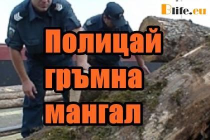 Полицай гръмна мангал
