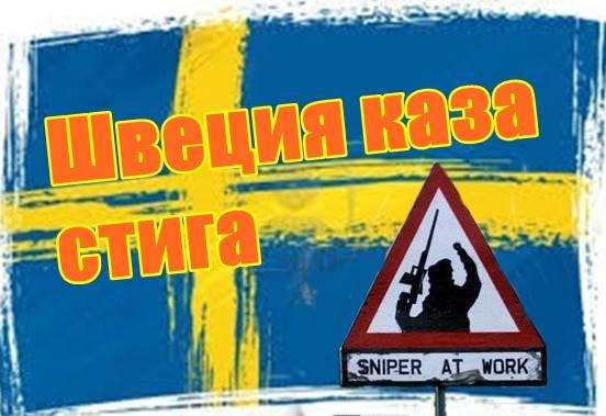 Швеция каза стига
