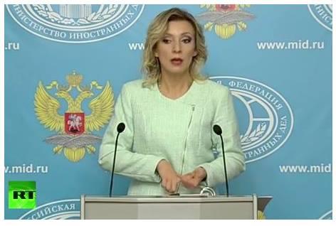 Мария Захарова разнищи как САЩ умишлено стовариха бежанска криза в Европа (ВИДЕО)