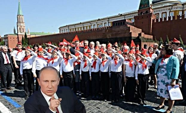Владимир Путин : Връща пионерските отряди с указ !