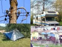 Да си построиш гето е законно, a да си опънеш палатка не !