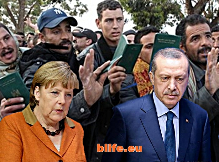 Ангела Меркел : Турция ни мами!