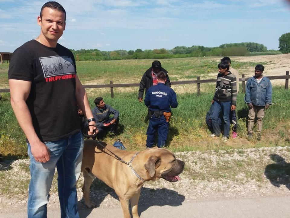 Гражданските арести в Унгария + СНИМКИ