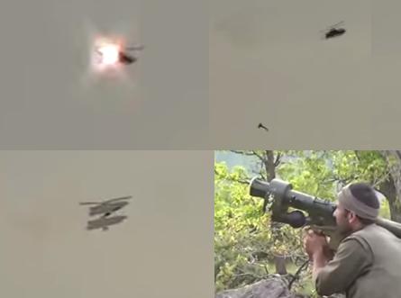 Шокиращо ВИДЕО! Как Кюрди свалят боен Хеликоптер AH-1W Super Cobra!