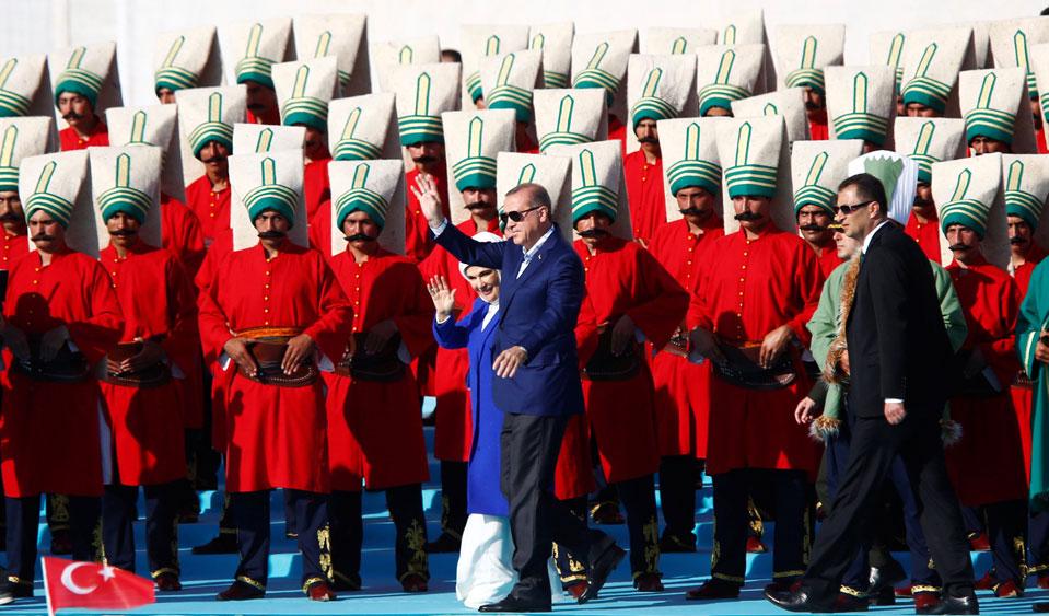 Ердоган: Еничарите не трябва да носят бради