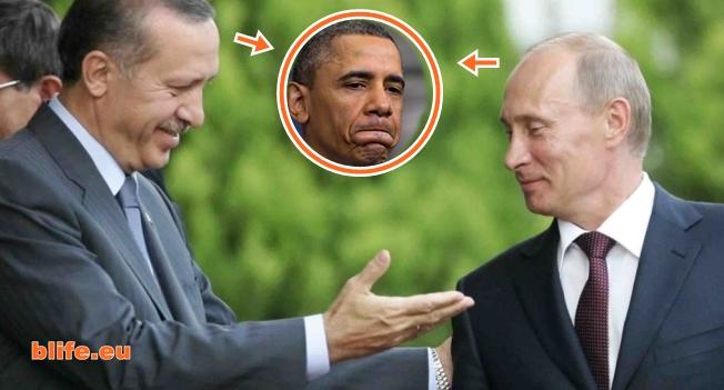 Ексклузивно! Ердоган се опъна на Обама и НАТО!