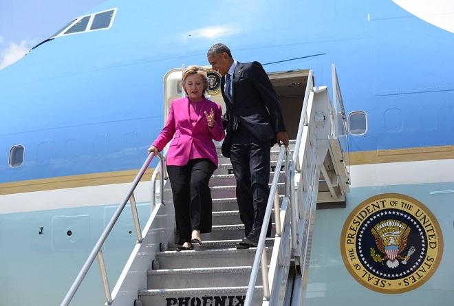 Барак Обама активно се включи в президентската кампания на Хилари Клинтън