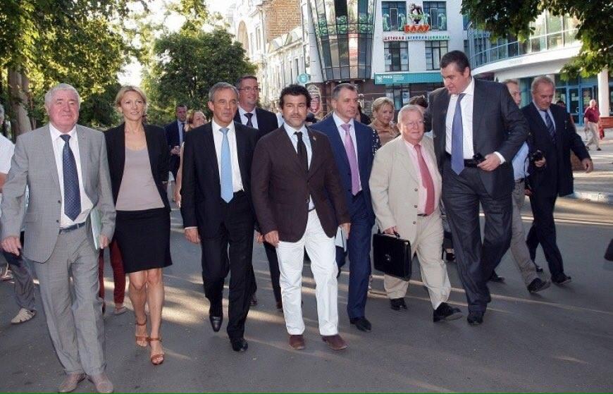 Френски депутати в Крим !