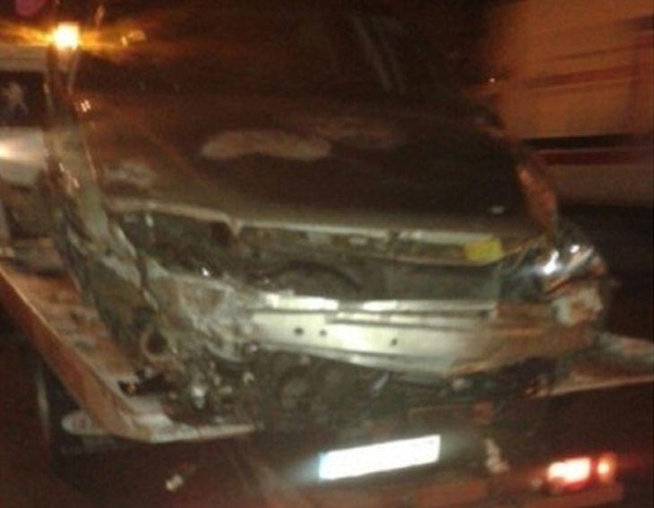 Бойко Борисов остана на място в пътен инцидент !