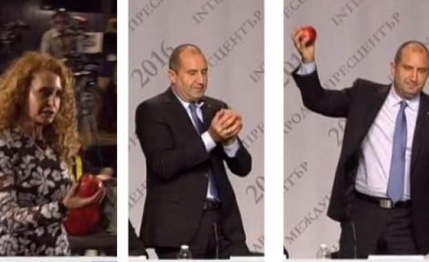 Радев с ябълката