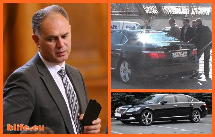 Който живее от подаръци рано или късно умира Лексус LS460L - подаръкът за НСО или за Борисов?