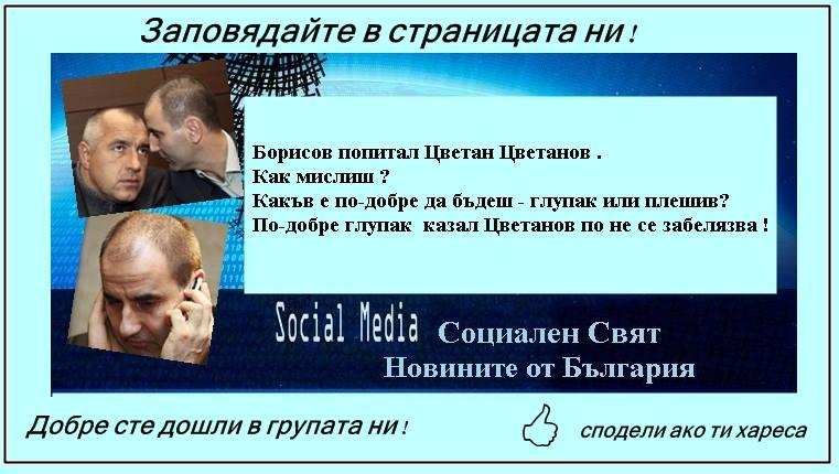 Цветанов Цветанов Социален Свят
