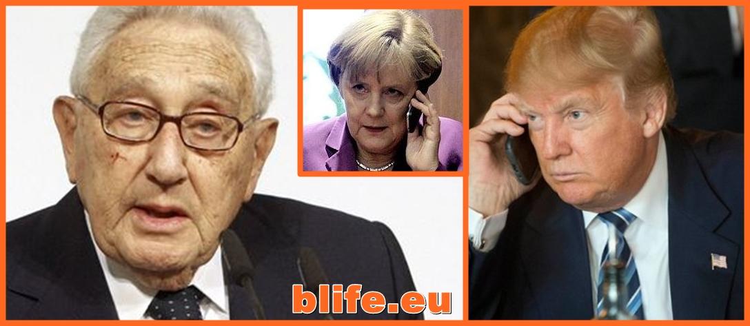 Хенри Кисинджър за Меркел и Тръмп