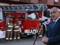 Бойко Борисов и образът на спасителя пожарникар
