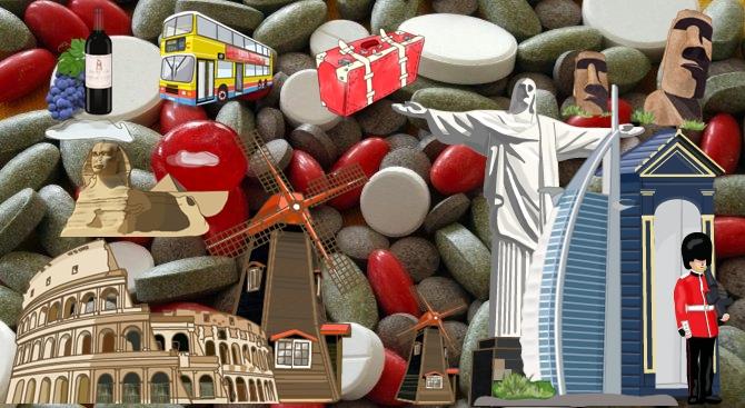 Джипита изписват ударно лекарства, за да пътуват безплатно на екзотични екскурзии