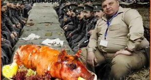 Каракачанов! На всяко прасе му идва Коледата!