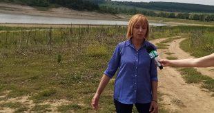 Манолова: Къде е водата г-н Борисов