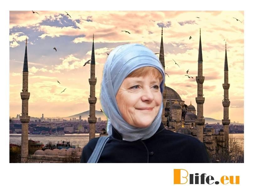 Меркел обърна гръб на Християните в Европа