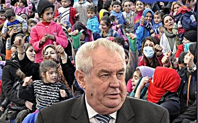 Това е запланувано нахлуване каза Милош Земан за мигрантите и ИД