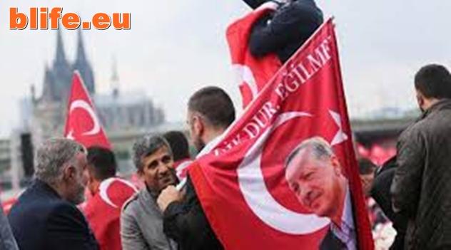 """Берлин обвини Ердоган в """"преврат срещу демокрацията"""""""