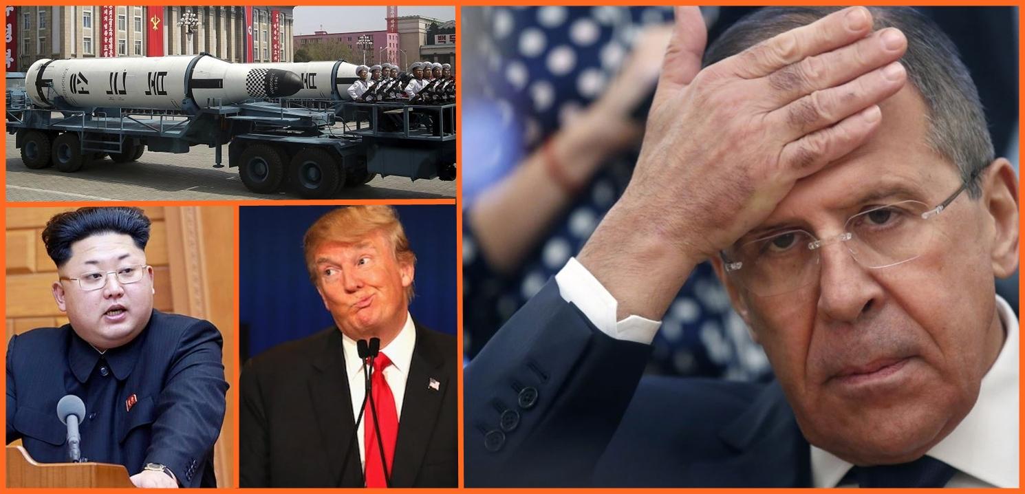 """Лавров сравни войната на думи между Тръмп и Ким Чен Ун с """"бой на деца в детската градина"""""""