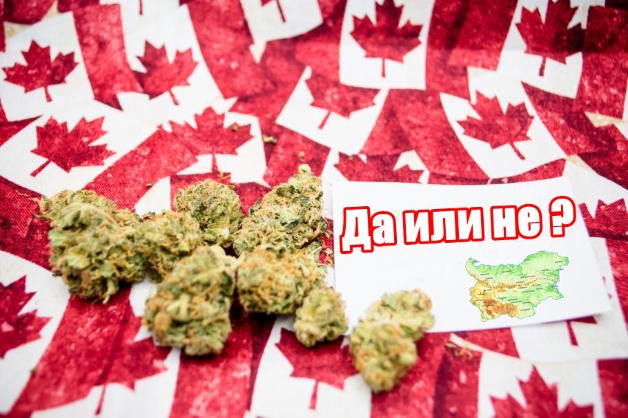 Канада легализира марихуана